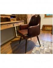 Krzesło z obiciem skórzanym HD-9578