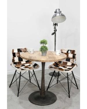 Krzesło z obiciem skórzanym HD- 7377