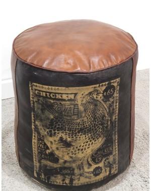 Okrągła pufa Ottoman 42x42x42