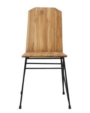 Krzesło tekowe TORAJA Tek 41x48x90