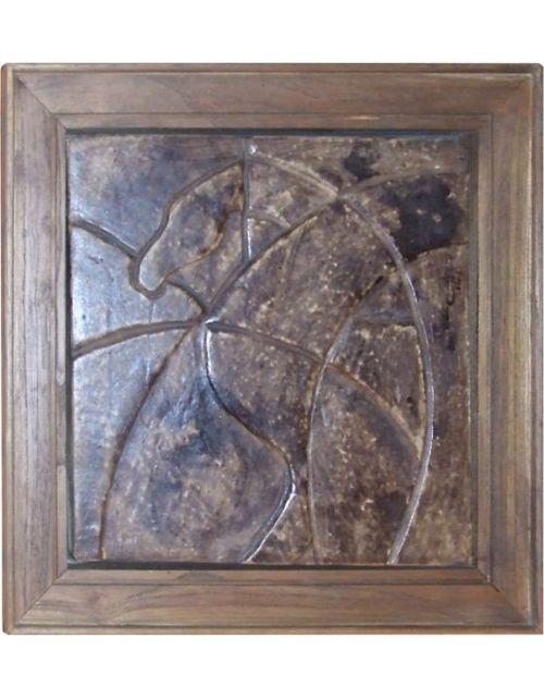 Obraz ceramiczny w ramie