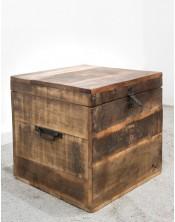 Drewniana skrzynia SHIWAR 45x45x44