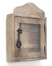 Drewniany wieszak na klucze KeyChain Karjule 30x40 Mango