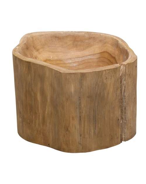 Drewniana Misa na Owoce z Teku KANPUR śr. 27-30cm