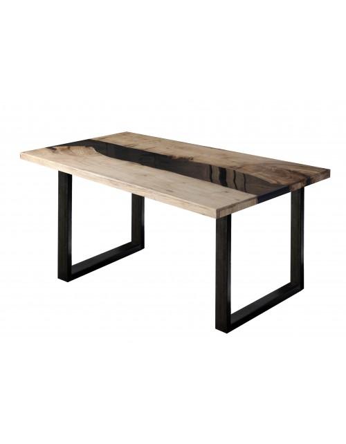 Stół drewniano epoxydowy 2464-Y 180x76x90 cm drugi gatunek