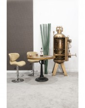 barowy stolik kawowy śr.90cm, wys.80cm