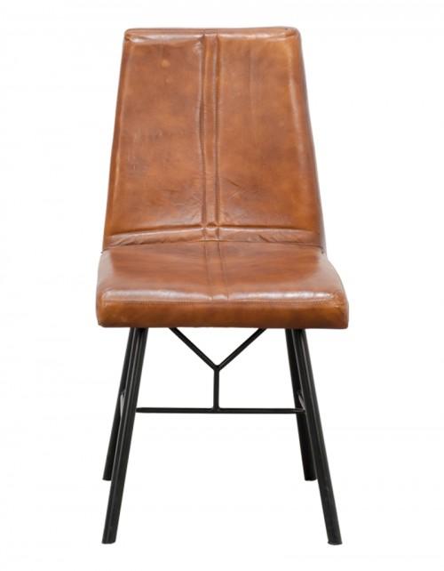 Krzesło z obiciem / Siedzisko Vintage