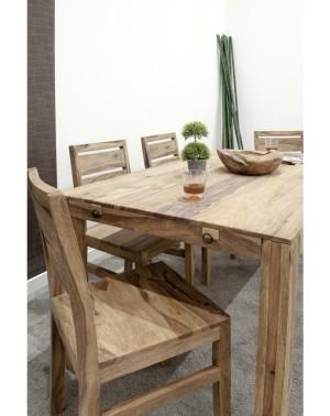 Stół drewniany jadalniany 160 / 250 Palisander