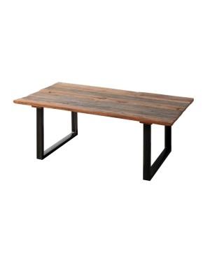 Stół drewniany Iron Natural 180x77x90