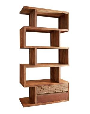 Biblioteczka / Szafka Madera RUST (3+2+7) 195x150x45