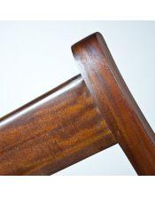 Krzesło / Drabinka Dekoracyjna Kolonialna klasyczna Mahoń