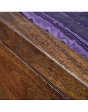 Łóżko drewniane 160 x 200 Oiled Matt
