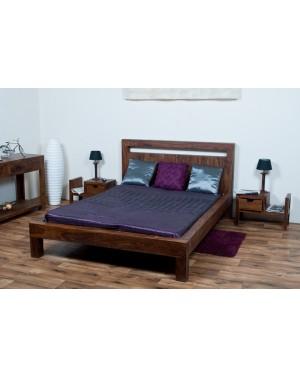 Łóżko drewniane 140 x 200 Oiled Matt