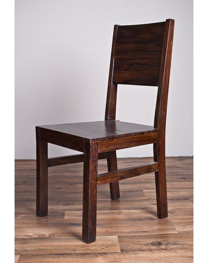 Krzesło z drewna Light Walnut Palisander