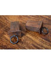 Stół drewniany jadalniany 160 / 250 Oiled Matt Palisander