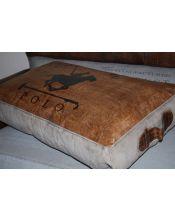 Poduszka, pufa przeszywana 70 x 45 x 15