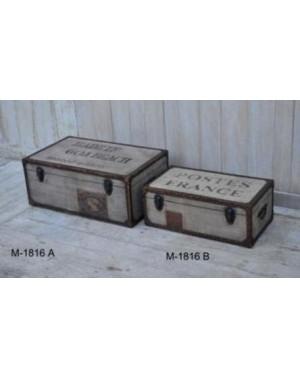 M-1816 zestaw 2 Skrzyń 68 x 41 x 28 oraz 56 x 30 x 21