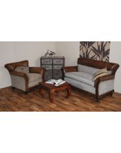 Brown M-1958 Fotel Sofa 80 x 76 x 77