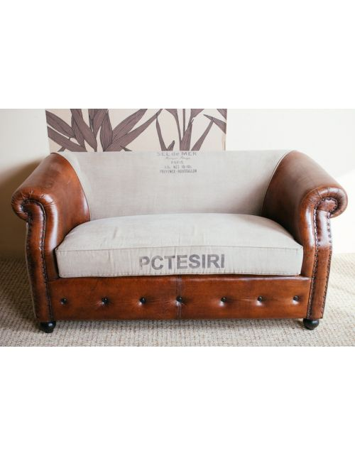 Brown Sofa M-1882 NEW 180x80x72