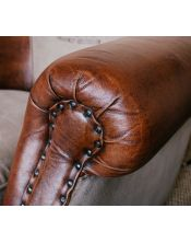Brown Sofa M-1882 NEW 180x80x72