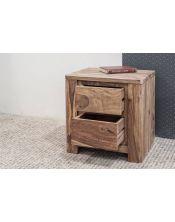 Stolik drewniany / Szafka nocna (2) Madras