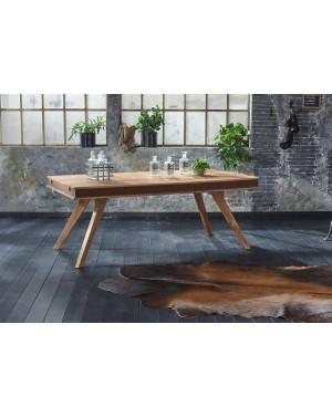 Stół drewniany jadalniany 160/240 cm Milan