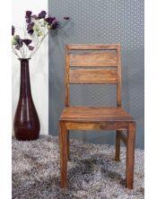 Krzesło z drewna Oiled Matt Palisander