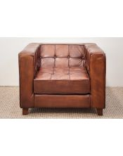 Leather Fotel Sofa 52x80x70