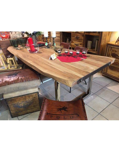 Stół drewniany jadalniany 200 x 100 x 77 NT