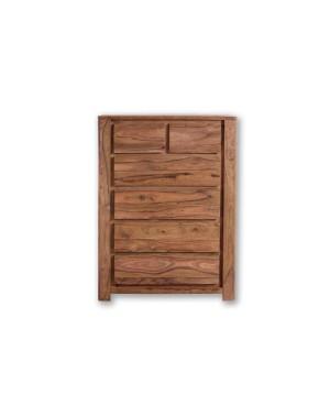 Komoda drewniana / Szafka słupek (6) Bieliźniarka Madras