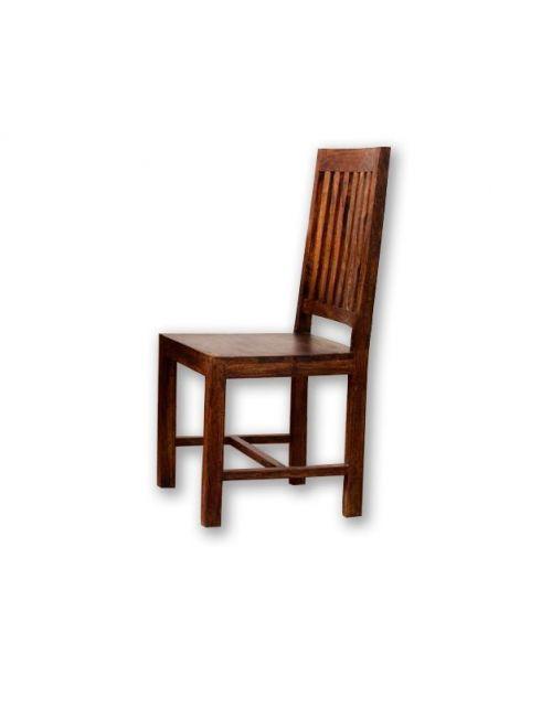 Krzesło drewniane Oiled Matt Palisander