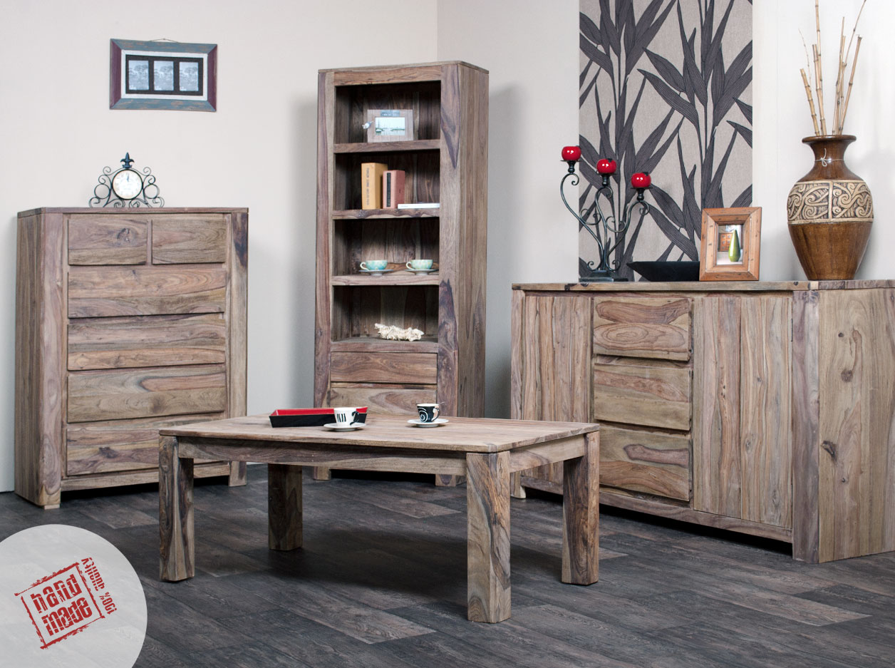 meble drewniane do salonu